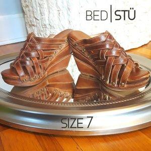 BED|STÜ Wedge Sandal